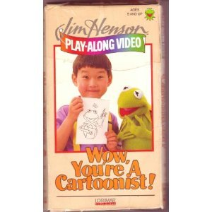 Wow, You're a Cartoonist! (Jim Henson Play-Along Video Series) [VHS]