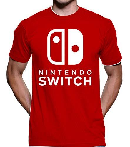 Camiseta Switch (Vermelho, P)