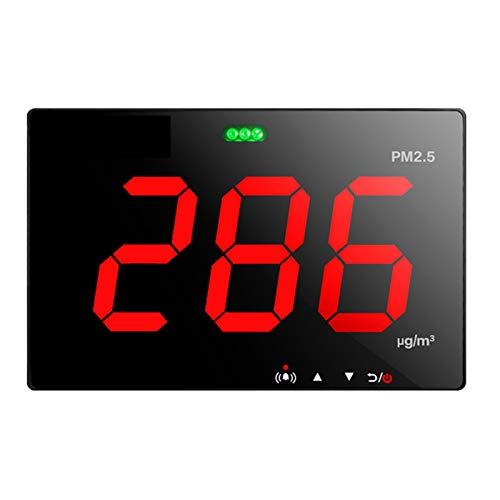QHY PM2.5 Detector láser de calidad del aire PM 2.5 Analizador de contaminación PM2.5 Medición de datos almacenamiento/pantalla/USB