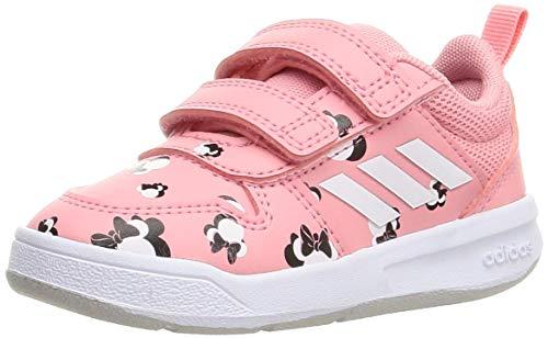 adidas TENSAUR I, Zapatillas de Running, SUPPOP/FTWBLA/Gridos, 24 EU ⭐