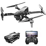 Leefly VISUO Zen K1 4K GPS Drone sans Brosse avec Double Caméra 120 ° Grand Angle 5G WiFi Filtre Beauté Filière Débit Optiacal Suivre RC Quadcopter