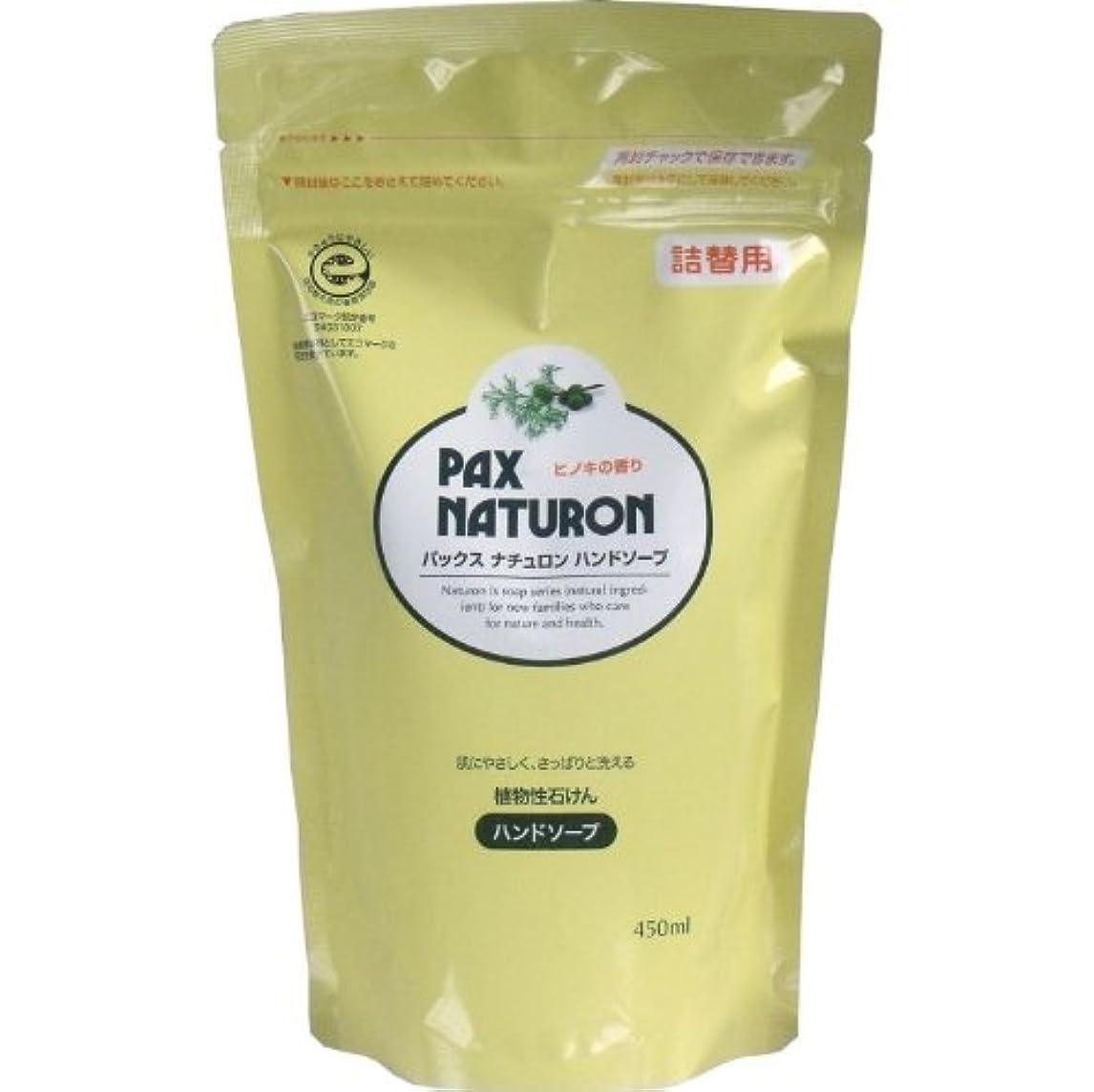 匹敵します陰気換気する肌にやさしく、さっぱりと洗える植物性石けん!植物性ハンドソープ 詰替用 450mL