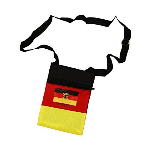 HAAC Fan Tasche Brustbeutel Fahne Deutschland Fußball 2018