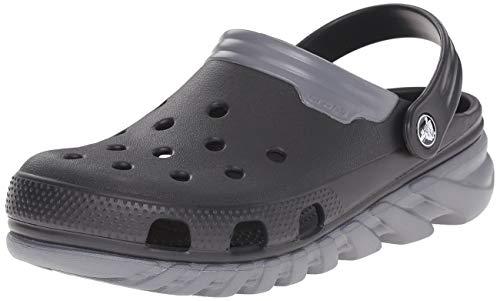 Crocs Crocs Duet Sport max, Unisex-Erwachsene Clogs, Schwarz (Black/Charcoal 070), 38/39 EU