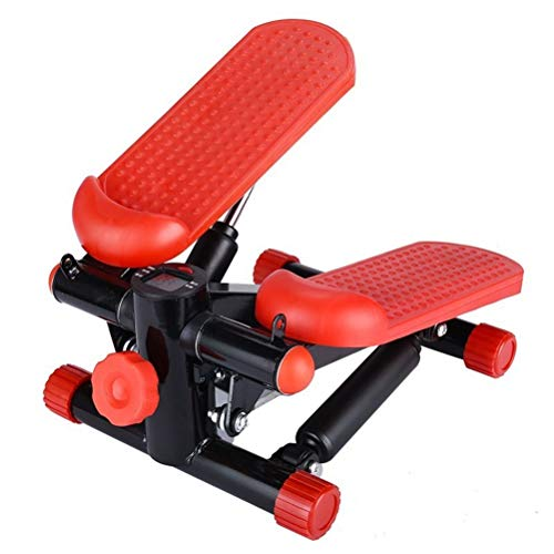 RongWang Silencio Cinta Multi-función de Pedal de Pasos de Fitness, máquinas de Pesas Mini-hogar (Color : A)