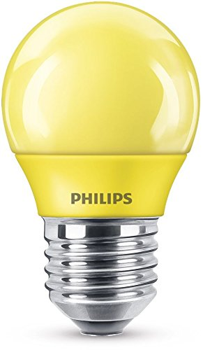 Philips 8718696748602 Bombilla LED E27, 3.1 W, Amarillo