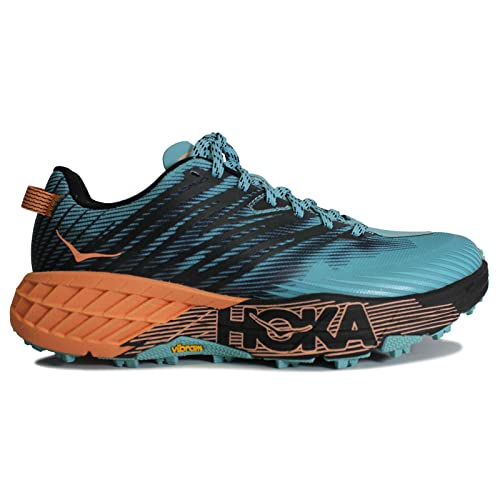 HOKA ONE ONE Womens Speedgoat 4 Textile Synthetic Trainers