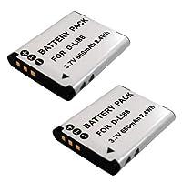 ≪ 2個 セット ≫ ペンタックス D-LI88 / DB-L80 互換 バッテリー