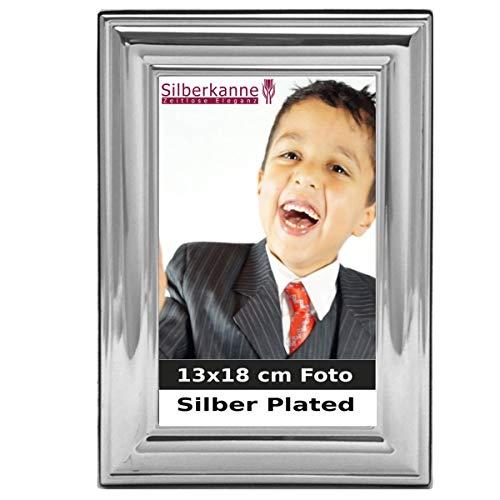 silberkanne Occasions Direct Frames - Cornice portafoto Venezia, placcata Argento, 13 x 18 cm