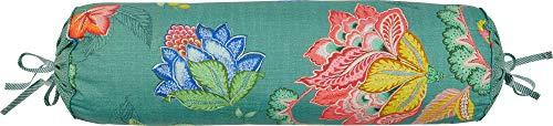 PiP Studio Nackenrolle Jambo Flower | grün - 22 x 70