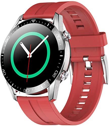 Pantalla táctil completa reloj inteligente bluetooth llamada reloj inteligente impermeable deportes fitness pulsera para hombres y mujeres-C