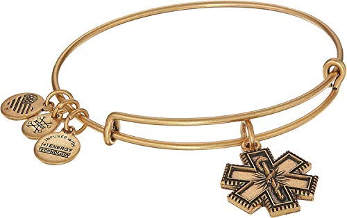 Alex and Ani Women's Medical Professional Bangle Rafaelian Gold One Size