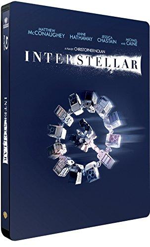 Interstellar (Iconic Moments) (2 Blu-Ray) (Steelbook) [Italia] [Blu-ray]