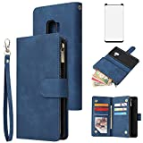 Asuwish Compatible with Samsung Galaxy S9 Plus Wallet Case