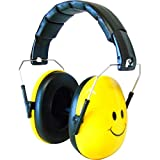 Edz Kidz キッズ 赤ちゃん用 6カ月-15歳 遮音値26db イギリスで大ヒット イヤーマフ スマイルデザイン