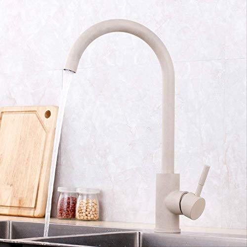 Ziehen Sie die gebürstete Küche 8125 schwarz-1,Bad Armatur Wasserhahn Waschtischarmatur aus, Waschbecken Armatur mit Wasserfall Waschtisch Waschbecken, Einhebelmischer fürs Bad