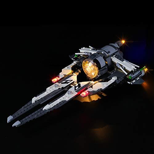 LIGHTAILING Licht-Set Für (Star Wars Resistance Tie Interceptor mit Allianz-Pilot) Modell - LED Licht-Set Kompatibel Mit Lego 75242(Modell Nicht Enthalten)