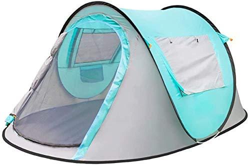 De ZANLI kan voor 3 tot 4 personen tent instant pop-up waterdicht UV automatische tent camping outdoor uitrusting gemakkelijk te installeren en grote ruimte voor het gezin inklapbaar.