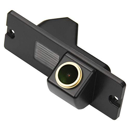HD 1280 * 720p Goldene Kamera Rückfahrkamera Farbkamera Rueckfahrkamera Nachtsicht Wasserdicht Hilfslinien für Mitsubish Pajero/Zinge/V3/V93/V5/L200/for Mitsubishi V97