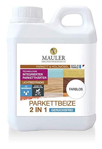 Mauler Parkett Beize 2in1 GRAU 1ltr. kein Aufquellen