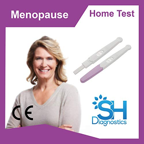 SH Diagnostics- Menopause (FSH) Self Test x2, Results in 5mins, 99% Accurate, CE Approved