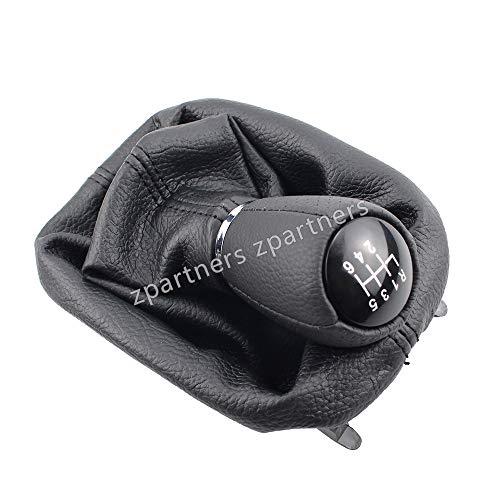 Pomo de la Palanca de Cambios de Cuero para Seat Leon 1 MK1 para Toledo IL MK2 Gaiter Boot Cover 12mm- 6 Speed