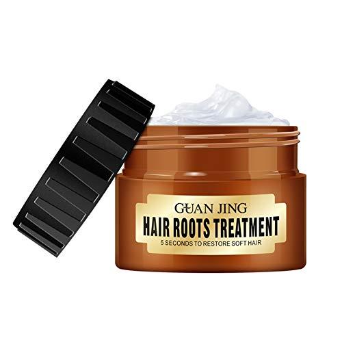 Masque capillaire pour cheveux secs et abîmés, traitement en profondeur pour revitalisant profond Traitement des cheveux et du cuir chevelu à la kératine OURS ROMANTIQUE