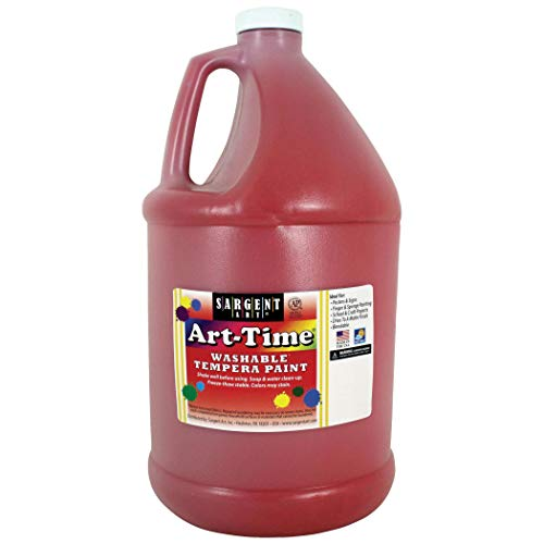 Art-Time® Washable Tempera Paint, Red - Gallon