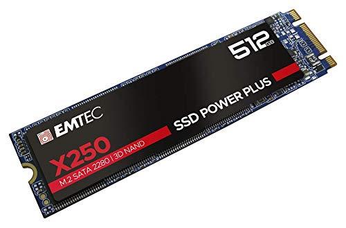 EMTEC SSD M2 SATA x250 512GB Power Plus 3D NAND