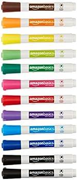 12-Pack Amazon Basics Dry Erase White Board Markers