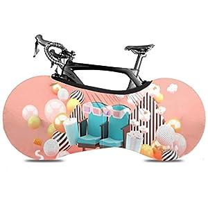YUXB Fahrrad Radabdeckung Kinostuhl Alkoholfreie Getränke Popcorn Unter Anti-Staub-Bike Indoor Aufbewahrungstasche Kratzfeste, abwaschbare High Elastic Tire Package Road