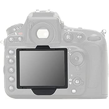UK GGS LCD Glass Screen Protector for Nikon D810  Includes top screen