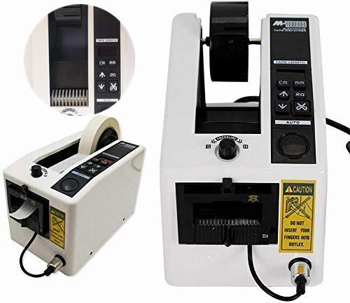S SMAUTOP Dispensador Automático de Cinta Máquina Dispensadora de Cinta Electrónica Se Adapta a un ancho de Cinta Máximo de 2, Longitud de Corte de Cinta Máxima de 39, para Diferentes Tipos de Cinta