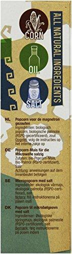 Yum Kah BIO Mikrowellen Popcorn salzig, glutenfrei - 2