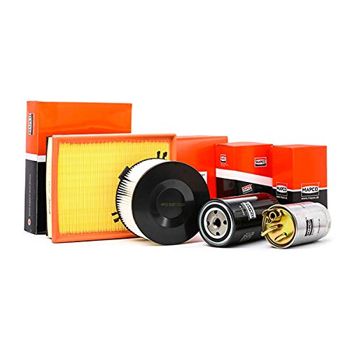 Mapco 68820 Filtersatz Luftfilter Ölfilter Pollenfilter Kraftstofffilter