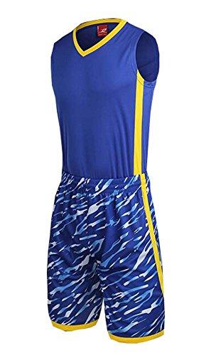 Black Temptation Basket-Ball Vêtements de Sport Jersey Chemises Hommes Set