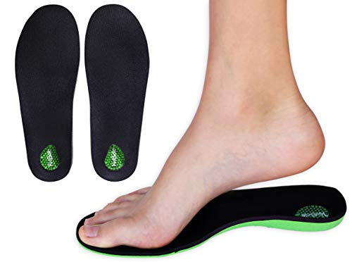 KidSole Green Martian: Arch Support Soft & Strong Insole. Slim & Lightweight...