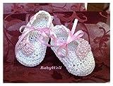 Crochet zapatos para bebe