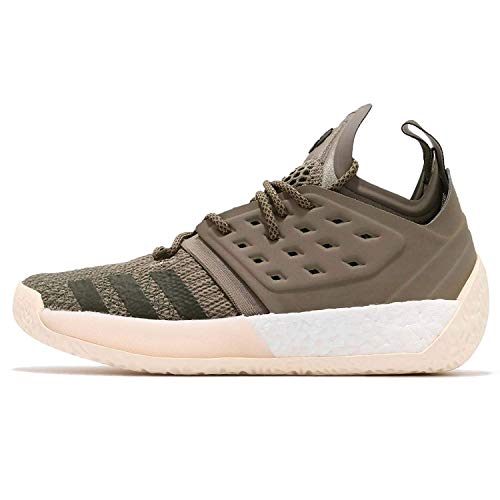 adidas Harden Vol. 2, Zapatos de Baloncesto Hombre, Verde (Tracar/Ecrtin/Ngtcar Tracar/Ecrtin/Ngtcar), 41 2/3 EU