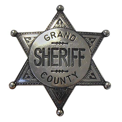 Denix Sheriffstern Grand County nickelfarbend