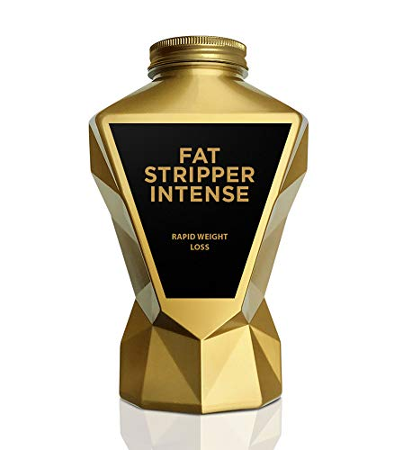 LA Muscle Fat Stripper Intense, 100% Natural Best Selling Fat Burner for Men and Women with Green Tea, Yerba Mate, L-Tyrosine and Guarana, Suitable for Vegans, Halal Trust Certified and GM Free