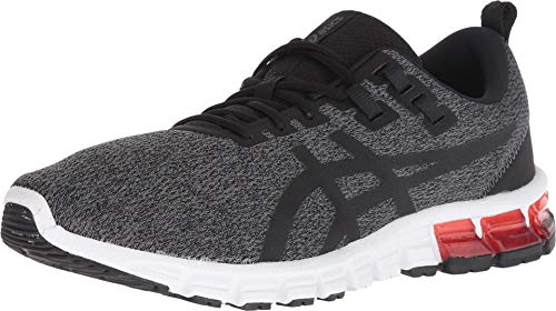 ASICS Men's Gel-Quantum 90 Running Shoes, 10.5M, Dark Grey/Black