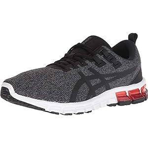 ASICS Men's Gel-Quantum 90 Running Shoes, 11, Dark Grey/Black