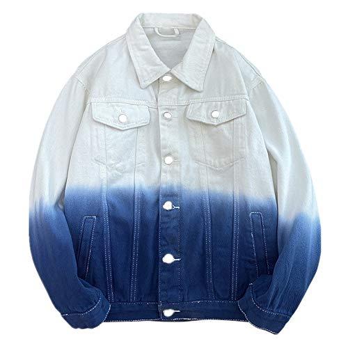 La primavera y el otoño de los hombres pantalones vaqueros chaqueta primavera chaqueta