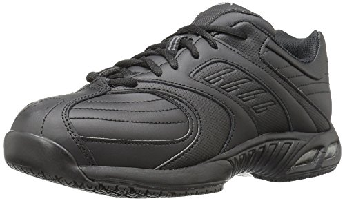 Dr. Scholl's Shoes mens Cambridge Ii Work Shoe, Black, 8 US