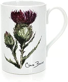 Flower of Scotland Porcelain Mug in a Scottish Thistle Design