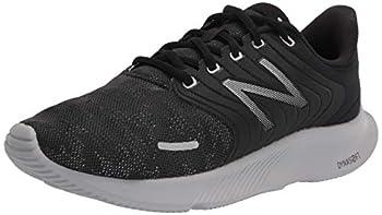 New Balance Women s Dynasoft 068 V1 Running Shoe Black/Lead/Silver Metallic 12 Wide