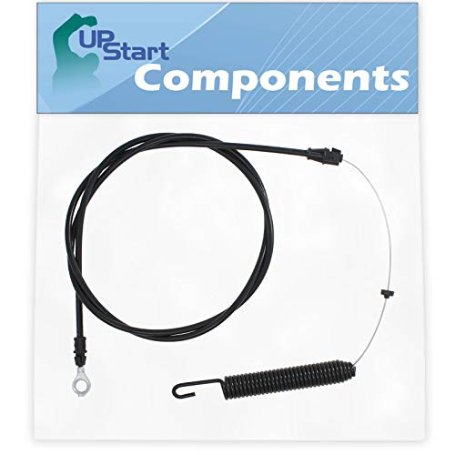 UpStart Components 532435110 Cable Clutch Replacement for Husqvarna YTA18542 (96043021100) (2015-08) Tractor - Compatible with 435110 Deck Engagement Cable