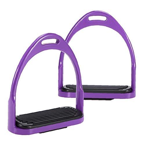 Hípica Estribos De Aluminio Flex Caballo De Silla Antideslizante del Pedal Caballo Equipo De Protección De Seguridad del Equipo Ecuestre Ecuestre
