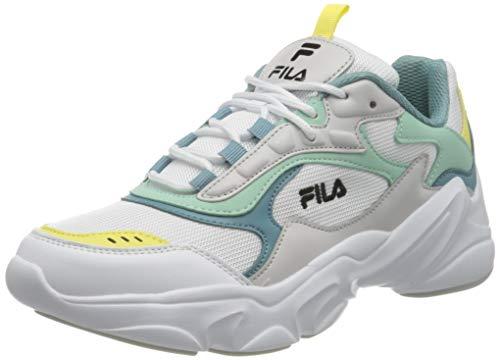 FILA Collene CB wmn zapatilla Mujer, blanco (White/Cameo Blue), 40 EU